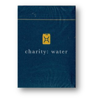 charity: water blue Playing Cards by Theory11