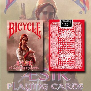 Bicycle AEsir Viking Gods Deck (Red)