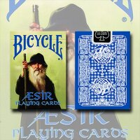 Bicycle Blue AEsir Viking Gods Deck (Blue)
