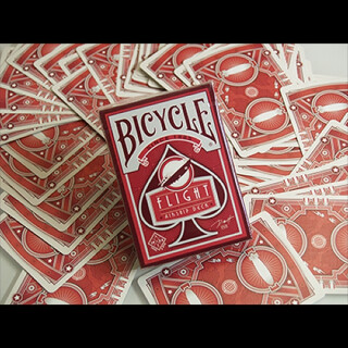 Bicycle Flight Deck (Red)