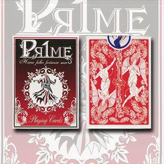 Pr1me Series001 Deck (Red) by Max Magic & stratomagic