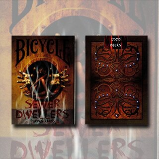 Bicycle Sewer Dwellers (Limited Edition) by Collectable Playing Cards