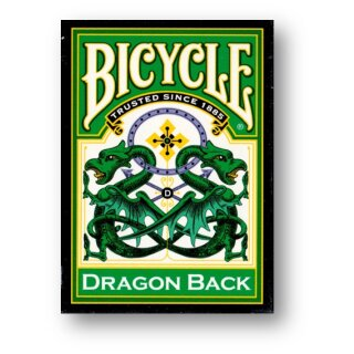 Bicycle Dragon Green by Gamblers Warehouse