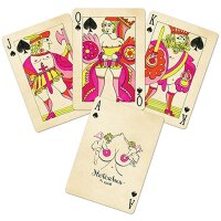 Limited Edition Black Hotcakes Playing Cards by Uusi
