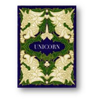 Unicorn Playing cards (Emerald) by Aloy Design Studio