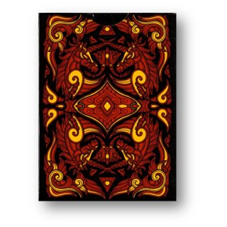 Unicorn Playing cards (Copper) by Aloy Design Studio