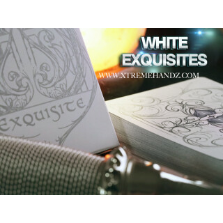 Limited Edition WHITE Exquisite Deck by DeVo and Handlordz, LLC