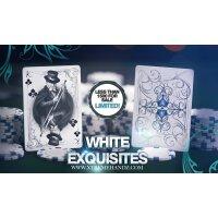 Limited Edition WHITE Exquisite Deck by DeVo and Handlordz, LLC