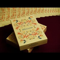 Blossom deck (Fall) Platinum Metallic Ink by Aloy Studios
