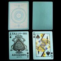 Tally Ho Reverse Circle back (Mint Blue) Limited Ed. by Aloy Studios