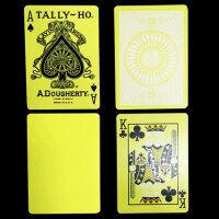 Tally Ho Reverse Circle back (Yellow) Limited Ed. by Aloy Studios