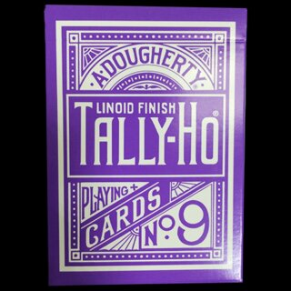 Tally Ho Reverse Circle back (Purple) Limited Ed. by Aloy Studios