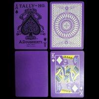 Tally Ho Reverse Circle back (Purple) Limited Ed. by Aloy Studios