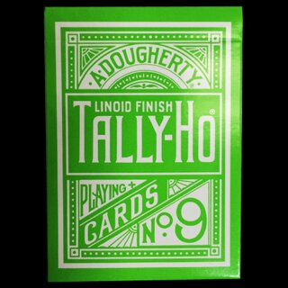 Tally Ho Reverse Circle back (Green) Limited Ed. by Aloy Studios