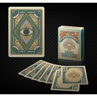 Bicycle Blackout Kingdom Deck (Light Shade) by Gamblers Warehouse