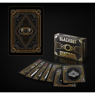 Bicycle Blackout Kingdom Deck (Limited Side tuck) by Gamblers Warehouse