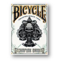 Bicycle Steampunk Deck (White) by Gamblers Warehouse