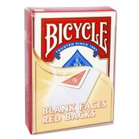 Bicycle - Blank Faces/Red Backs