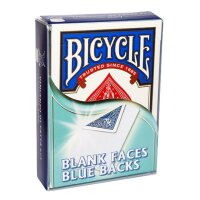 Bicycle - Blank Faces/Blue Backs