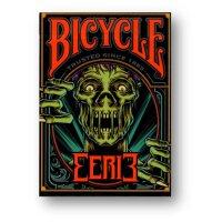 Bicycle Eerie Deck (Red) by Gamblers Warehouse