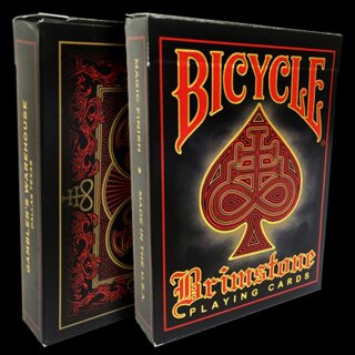 Bicycle Brimstone Deck (Red) by Gamblers Warehouse