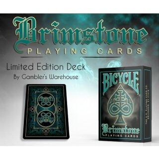 Bicycle Brimstone Deck (Green) by Gamblers Warehouse