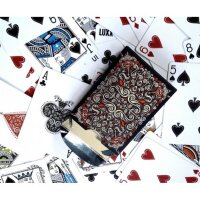 LUXX First Edition Orange Playing Cards
