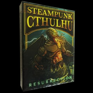 Steampunk Cthulhu Resurrection (Green) Deck by Nat Iwata