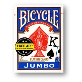Bicycle JUMBO Index BLAU