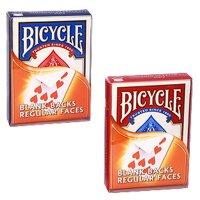 Bicycle Blank Backs - Regular Faces