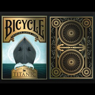 Bicycle Titanic Life Tuck Case