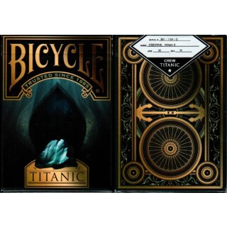 Bicycle Titanic Death Tuck Case (3rd Class or Crew level)