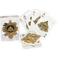 Arcanum White Playing Cards