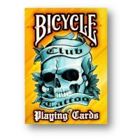 Bicycle Club Tattoo Orange