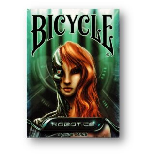 Bicycle Robotics Playing Cards by Collectable Playing Cards