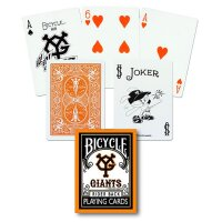 Bicycle Giants A Poker Deck
