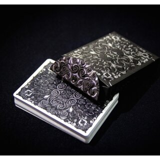 v2 LUXX® Playing Cards: Shadow Edition SILVER