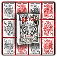 GRID 2.0 Deck Red  - Bicycle