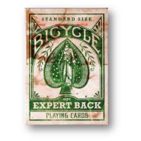Bicycle Expert - Green Playing Cards