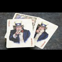 US President Playing Cards (Red) by Collectable Playing Cards