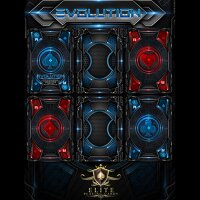 Evolution Deck (Red) Bicycle by ELITE Playing Cards