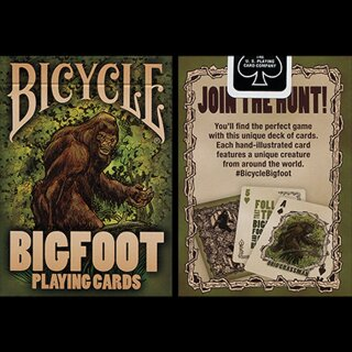 Bicycle Bigfoot Playing Card by US Playing Card Co