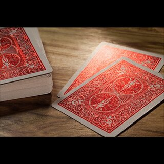 Bicycle Rider Back Crimson Luxe (Red) by US Playing Card Co