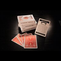 Bicycle Rider Back Crimson Luxe (Red) V2  by US Playing Card Co