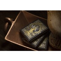 Tycoon (Black) Playing Cards by Theory11