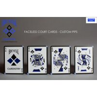 Bicycle Cardistry Blue by Worldcardexperts & Handlordz