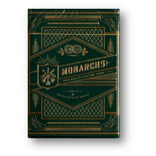 Monarch Green Edition Playing Cards