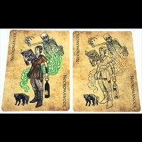 The Grimoire Series (Necromancy) Playing Cards
