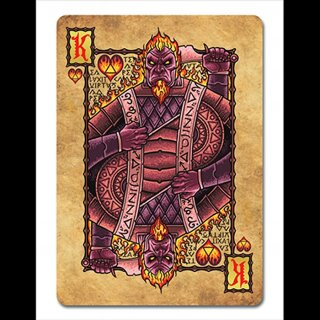 The Grimoire Series (Elemental Magick) Playing Cards