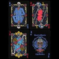 Dia de los Muertos Black Playing Card (2nd Edition)